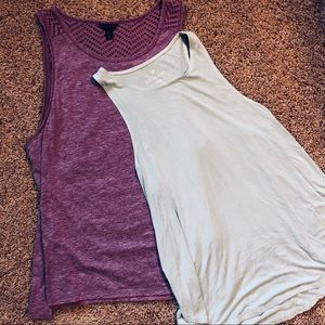 3 Nice Tank Tops Size Large